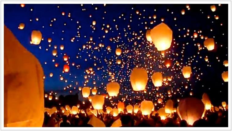ポーランドランタン祭り!夜空に1万個のランタン!?【カップルが行きたい祭りNo.1】