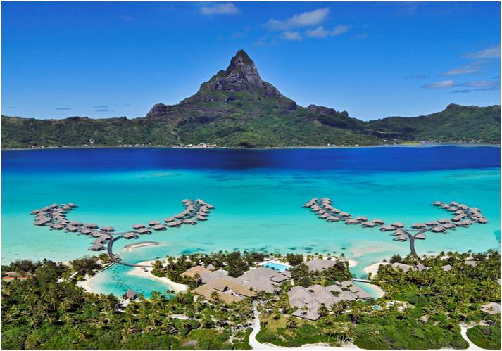 【ボラボラ島 in タヒチ】地上最後の楽園で憧れの水上コテージ!