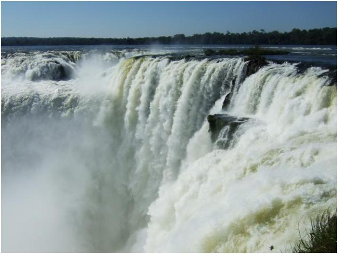 イグアスの滝 ブラジル側・アルゼンチン側からも絶対見たい!
