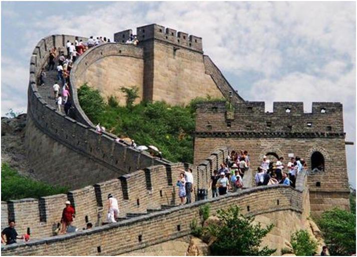 八達嶺長城を歩く / 北京・万里の長城