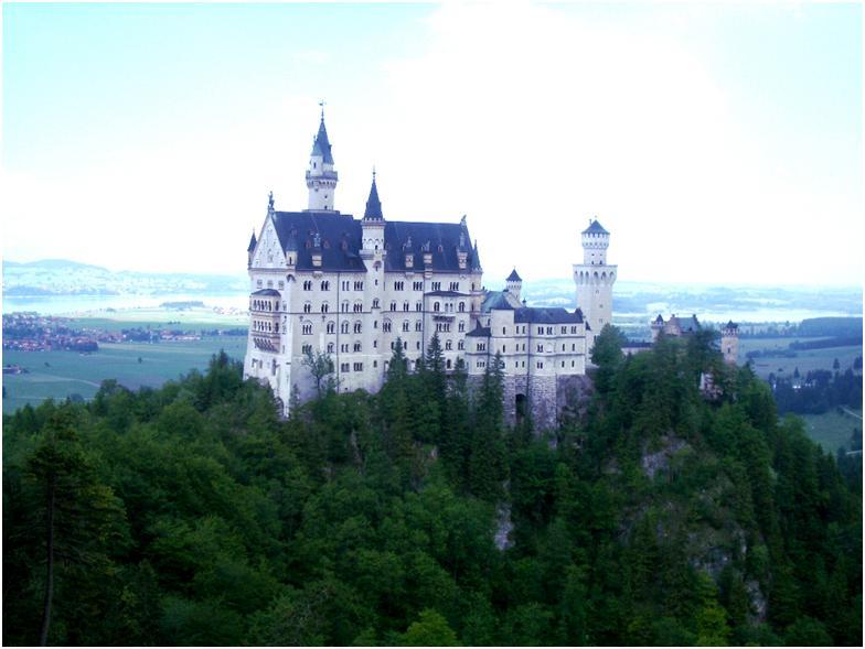 ノイシュヴァンシュタイン城に行こう♡まるでおとぎの城♪