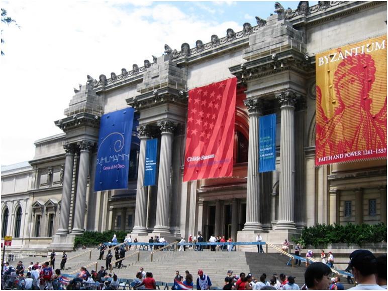 メトロポリタン美術館でニューヨークの芸術に触れよう♪