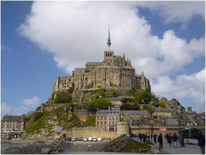 世界遺産モン・サン・ミッシェルを3時間で巡る旅♪
