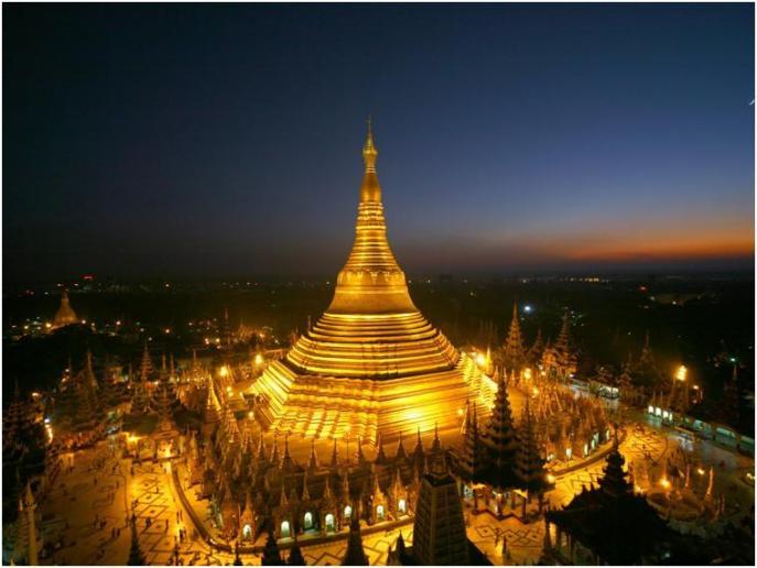 シュエダゴンパゴダで黄金に輝く都ヤンゴンに酔いしれる♪