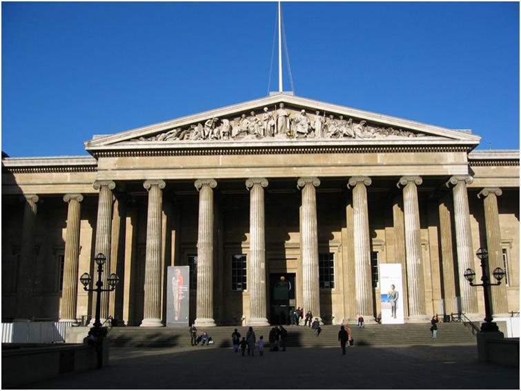 大英博物館でロゼッタストーンに大興奮!!