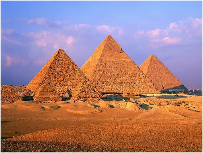 ギザの三大ピラミッドは謎だらけ!ウソ!?ホント!?