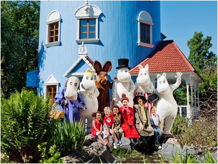 フィンランドのムーミンワールドで妖精の住む谷を満喫の旅♪