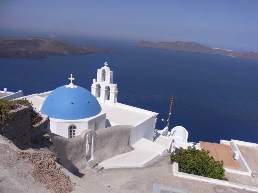ギリシャのサントリーニ島!憧れのエーゲ海のリゾート 観光ガイド