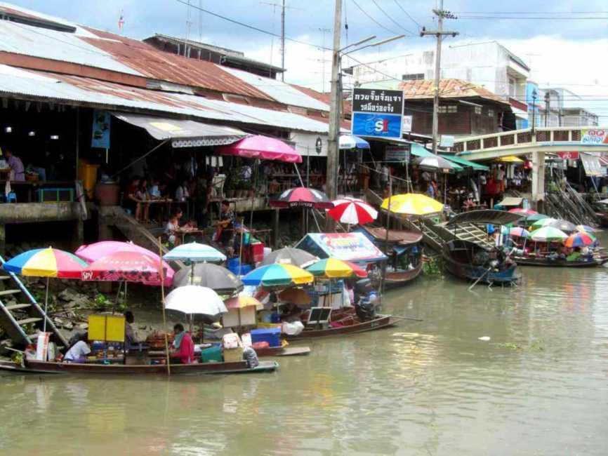 アムパワー~タイの水上マーケットを徹底攻略~