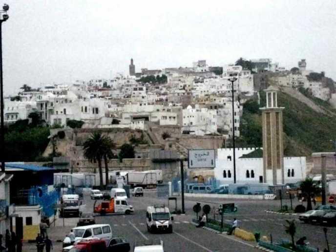 モロッコのタンジェ