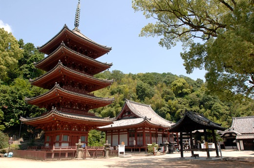 明王院を起点に広島ぶらり旅♪国宝五重の塔、名物たこ飯の旅♪