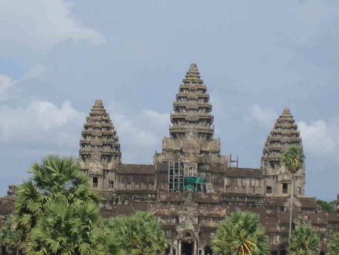 カンボジア観光の主役アンコールワットの絶景ポイント