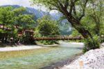 河童橋は上高地のシンボル的存在