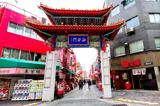 日本三大チャイナタウンの1つ南京街