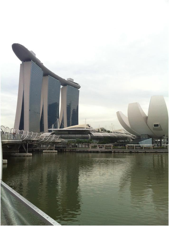 巨大観覧車シンガポール・フライヤーに乗ってシンガポールを一望♪