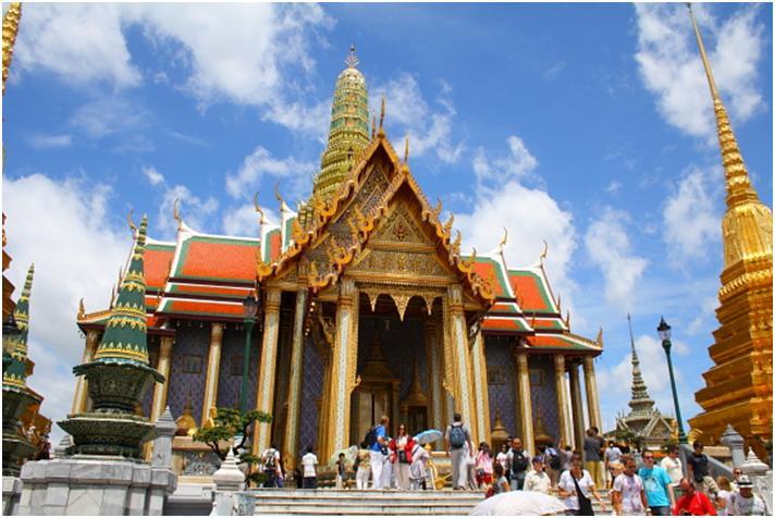 ワット・プラケオ(王宮)観光プラン♪バンコク観光の定番スポットめぐり♪