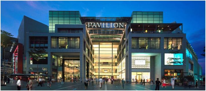 パビリオン・クアラルンプールを散策。KL最大級のショッピング・モール。