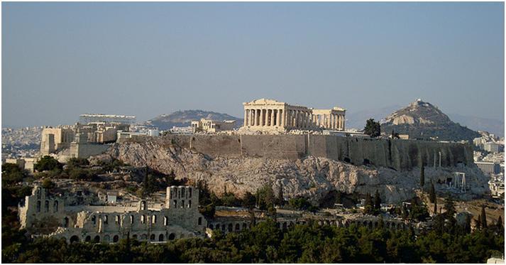 アクロポリス観光♪古代ポリス(都市国家)アテネのシンボル♪