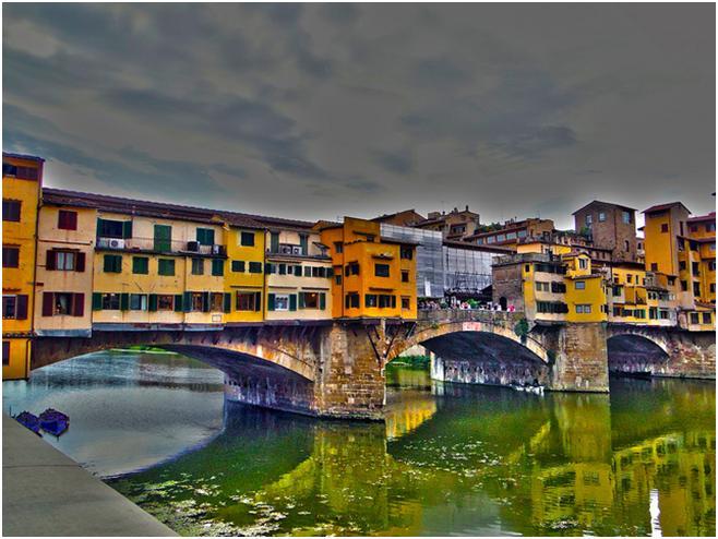 フィレンツェ最古の奇跡の橋 ポンテ・ヴェッキオの歴史