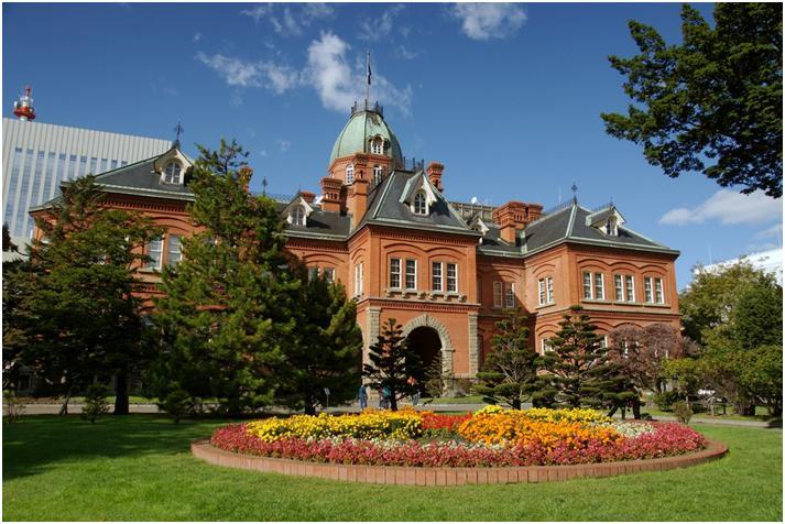 赤レンガの北海道庁旧本庁舎(札幌)の旅