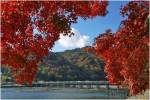 渡月橋でしっとり女子力を磨く旅。京都嵐山の佇まいに心落ち着く。