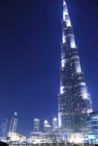 ブルジュ・ハリファは世界一高いビル