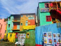ボカ地区inブエノスアイレスでアートとタンゴのカラフル路地観光♪