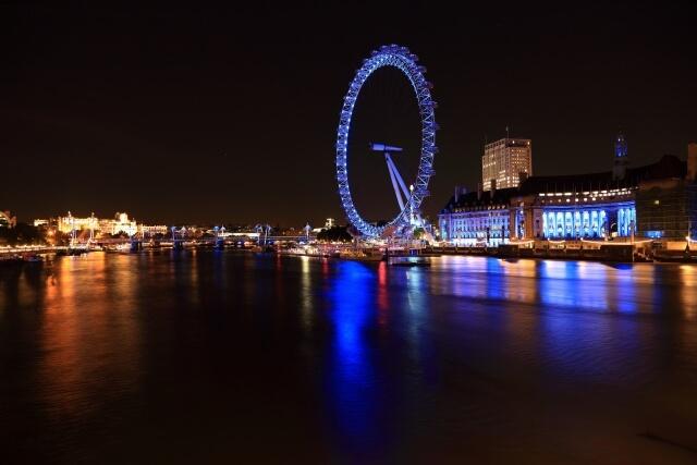 ロンドン・アイはヨーロッパ最大の観覧車 イギリスのランドマーク