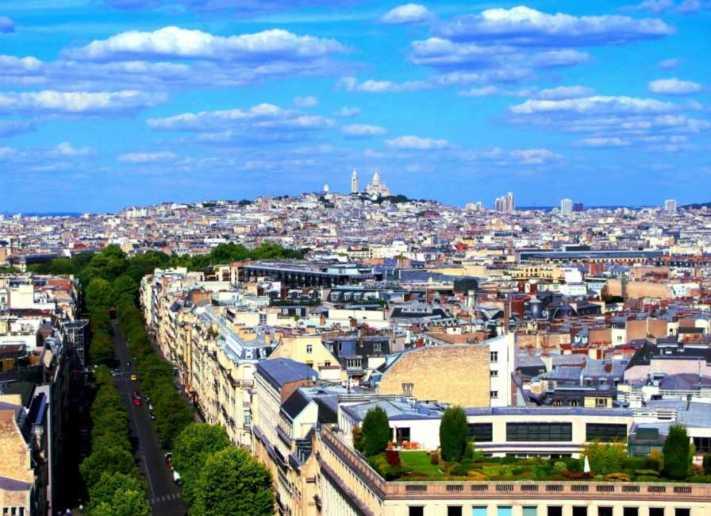 パリで最も高い丘の街「モンマルトル」の観光