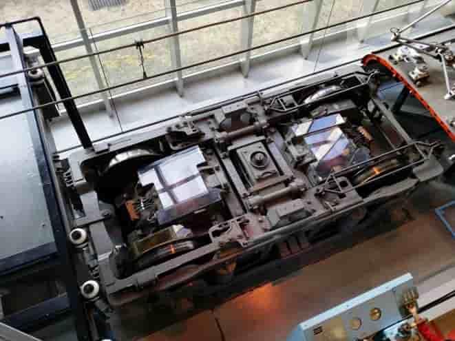 東武博物館の電車の仕組み展示
