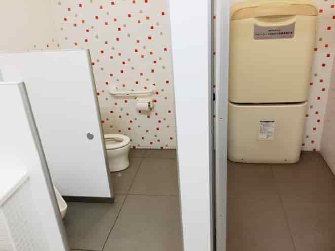 東武博物館のトイレはこどももOK