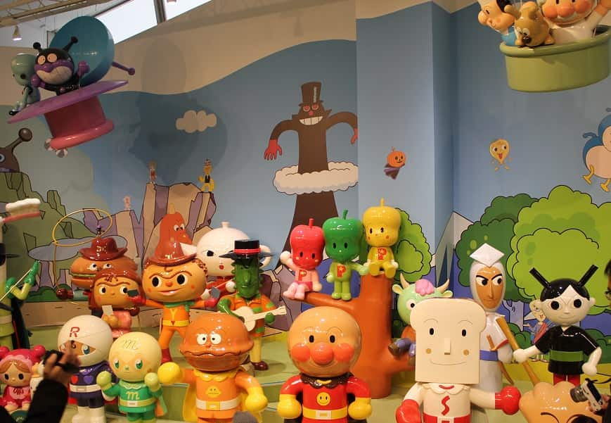 横浜アンパンマンこどもミュージアム モールでお誕生日会 観光旅行