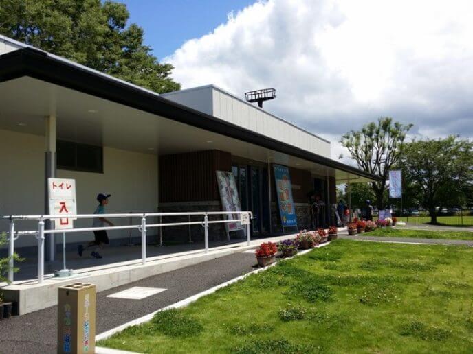 埼玉県羽生市にあるさいたま水族館外観