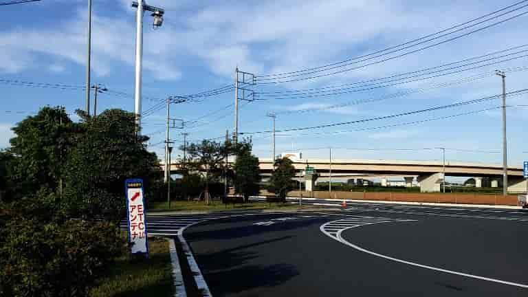 道の駅ごかはETC2.0の実証実験施設