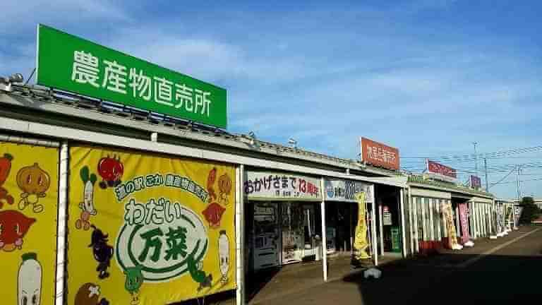 道の駅ごか農産物直売