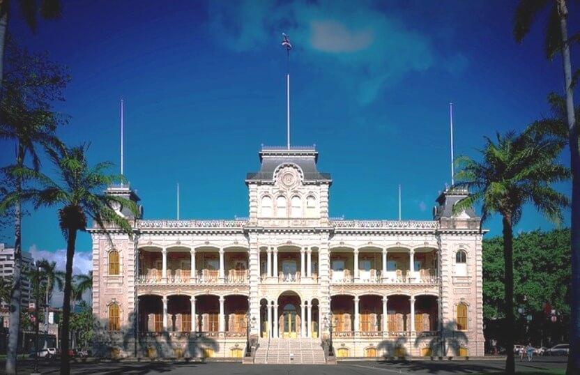 アメリカ・ハワイ・ホノルル/イオラニ宮殿