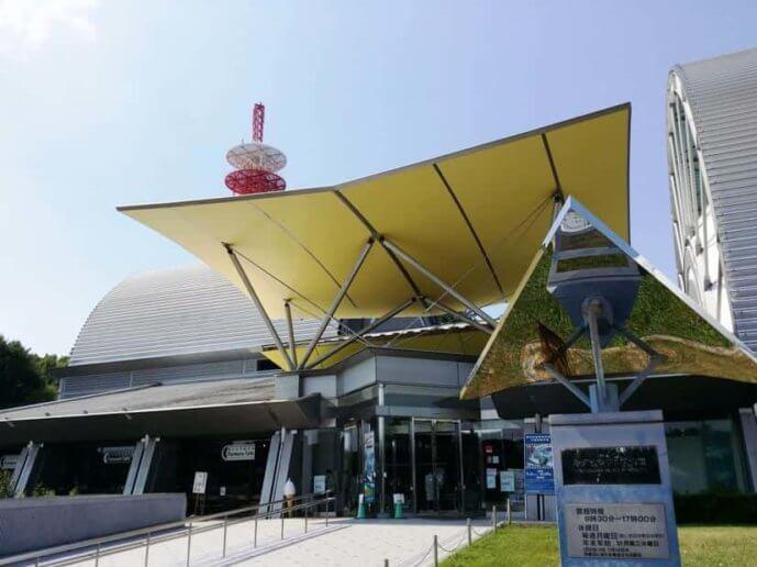 所沢航空発祥記念館の外観