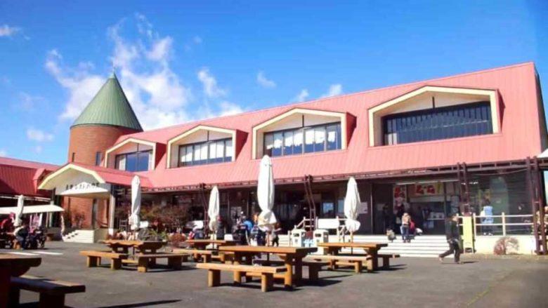大笹牧場のレストハウス