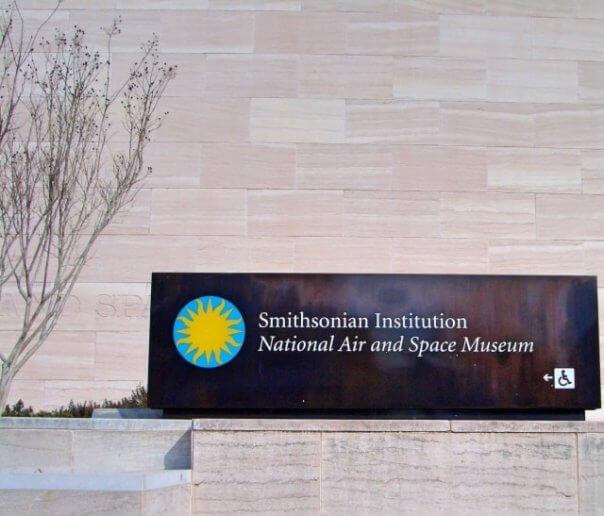 スミソニアン博物館群の国立航空宇宙博物館/アメリカ、ワシントン
