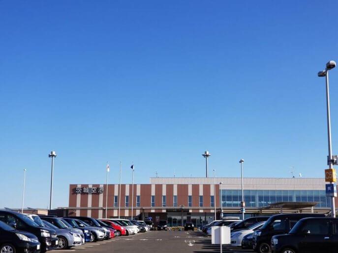 茨城空港の建物外観