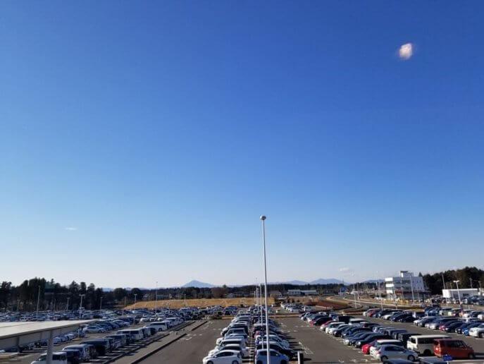 茨城空港の魅力は無料駐車場