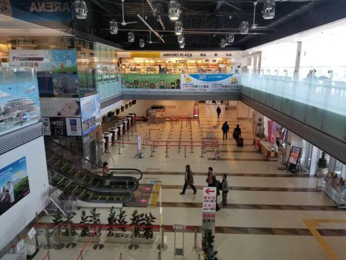 茨城空港施設内の飲食店やお土産