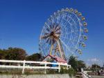 遊園地の定番、大きな観覧車は東武動物公園にも