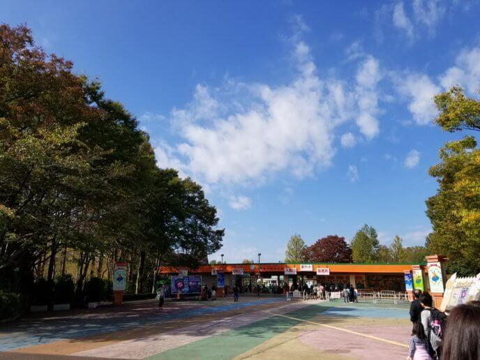 東武動物公園の東ゲート