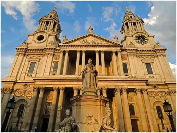 ロンドンにあるセント・ポール大聖堂