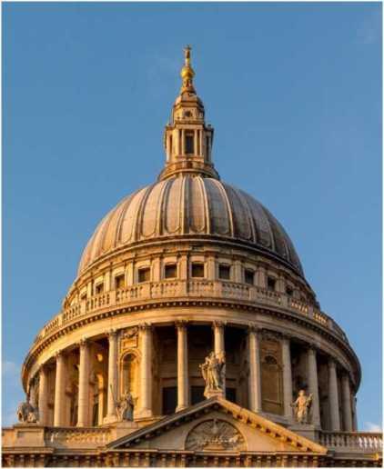 セント・ポール大聖堂はロンドンの重要なランドマーク