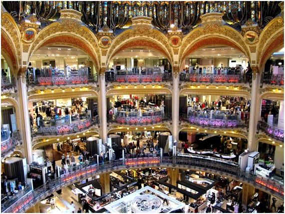 フランス・パリのギャラリー・ラファイエット