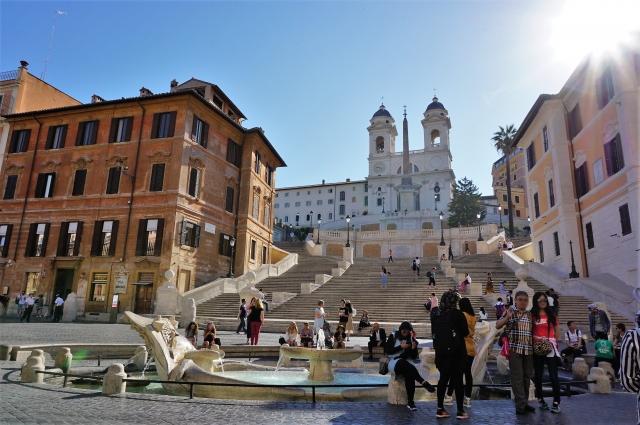 イタリア・ローマのスペイン広場