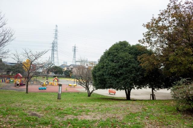 舎人公園の子どもの遊具
