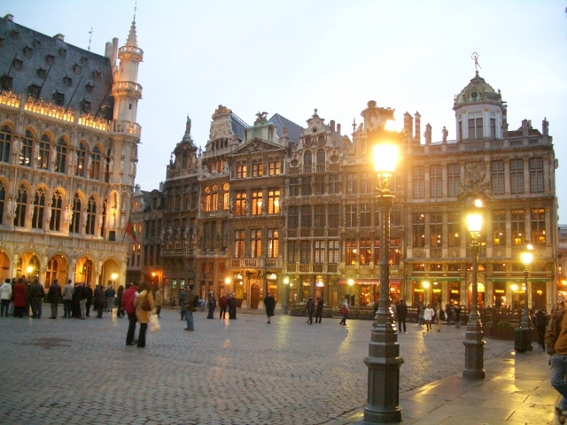 世界で最も美しい広場、ベルギー・ブリュッセルのグラン・プラス